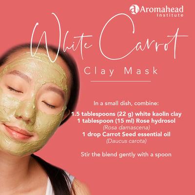 Blog-Dec 3-white carrot clay mask -recipe- 1200 x 1200