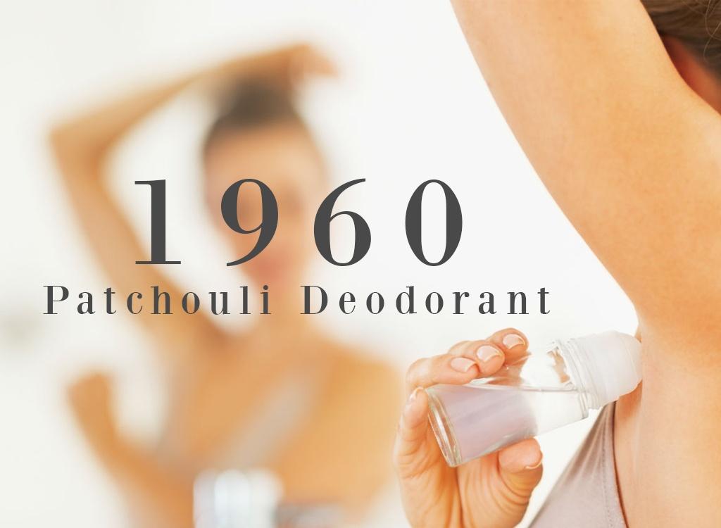Patchouli Essential Oil Deodorant