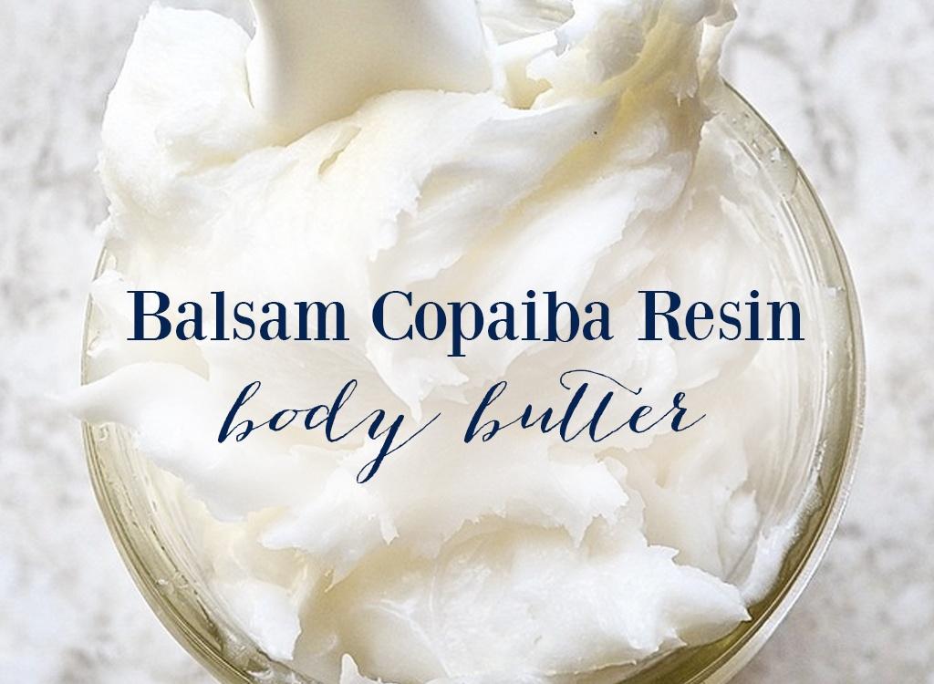 Balsam Copaiba Resin Body Butter