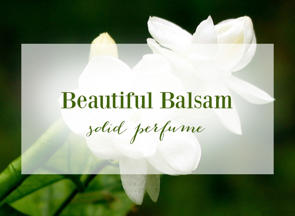 Balsam Oil Solid Perfume