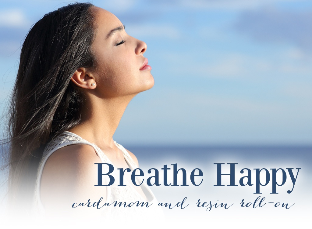 Breathe Happy Cardamom and Resin Roll-On