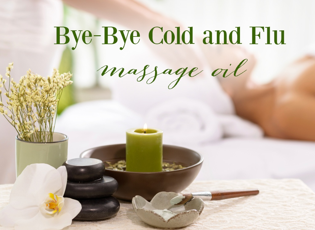 Bye Bye Cold And Flu Massage Oil