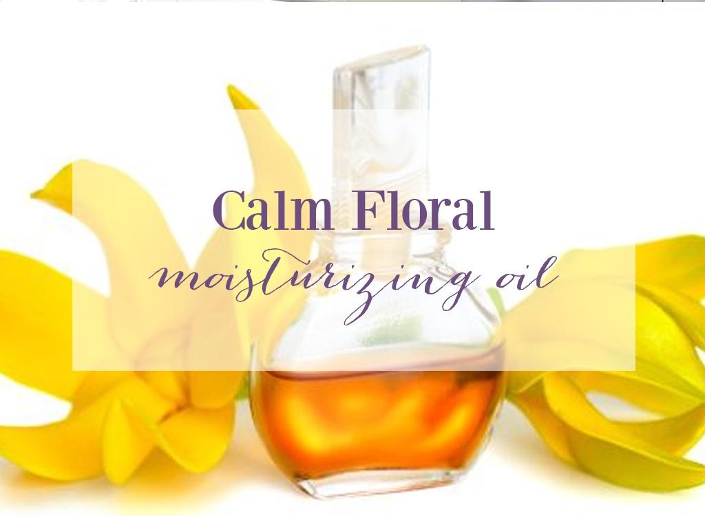 Ylang Ylang Calm Floral Moisturizing Oil