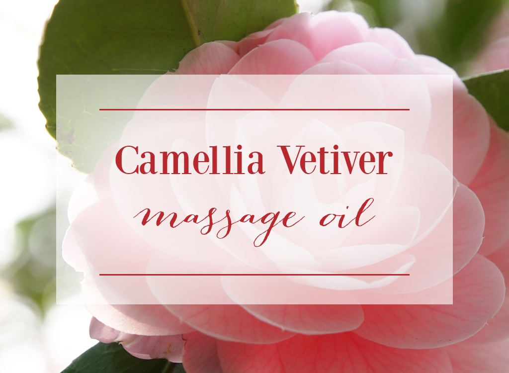 Camellia Vetiver Massage Oil