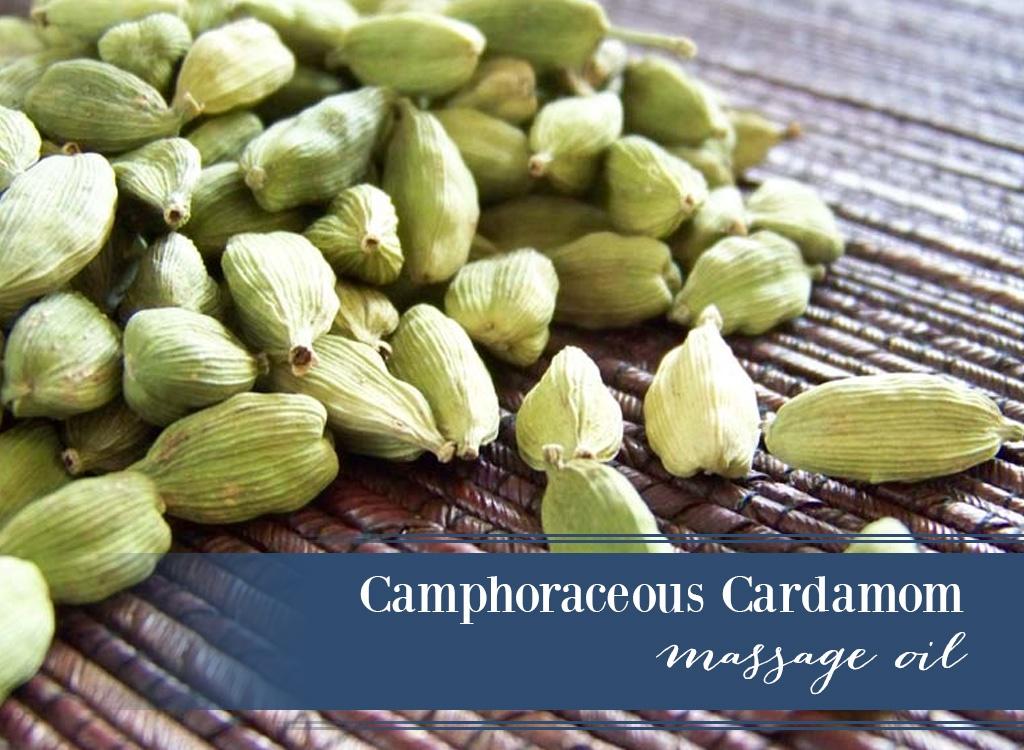 Cardamom Massage Oil