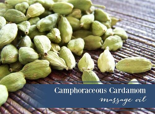 Cardamom Massage Oil