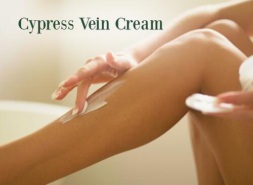 Cypress Oil Vein Cream