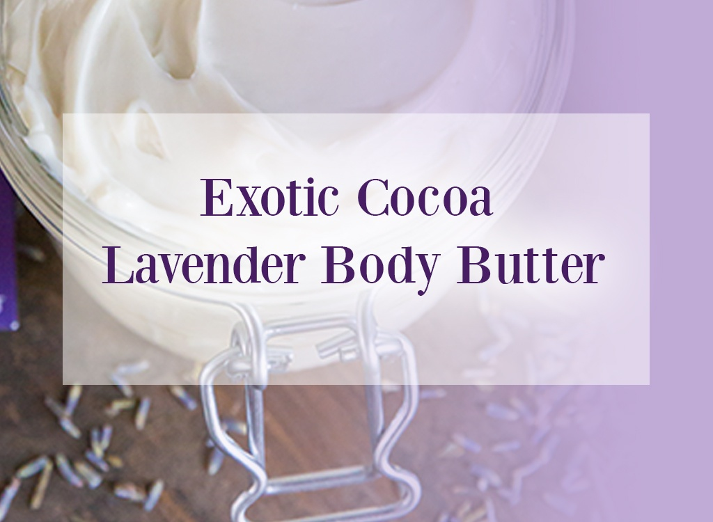 Exotic Cocoa Lavender Oil Body Butter