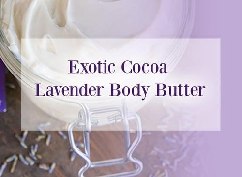 Exotic Cocoa Lavender Oil Body Butter
