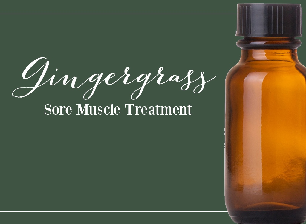 Gingergrass Oil - Sore Muscle Treatment