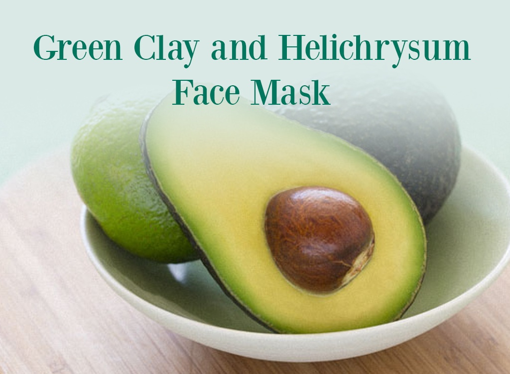 Green Clay and Helichrysum Face Mask