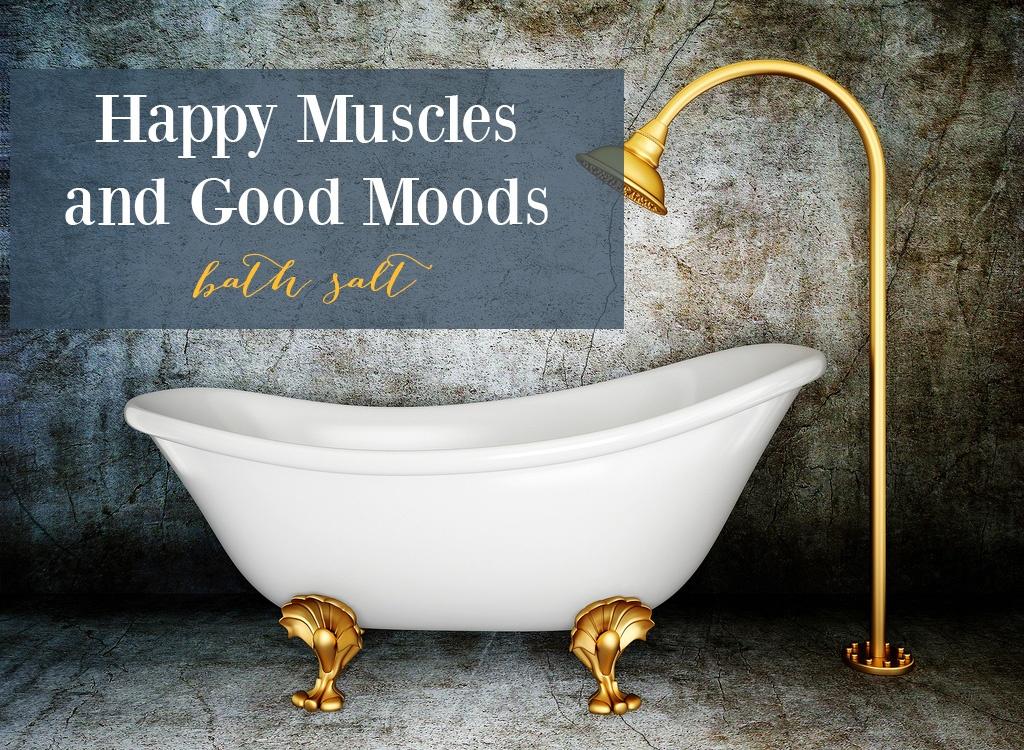 Cypress Oil Happy Muscles Bath Salt
