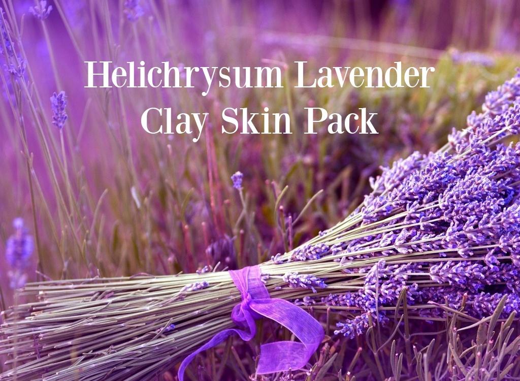 Helichrysum Lavender Clay Skin Pack