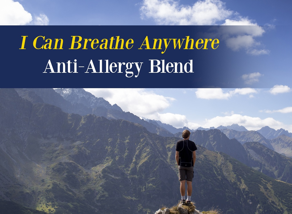 I Can Breathe Anywhere Anti Allergy Blend