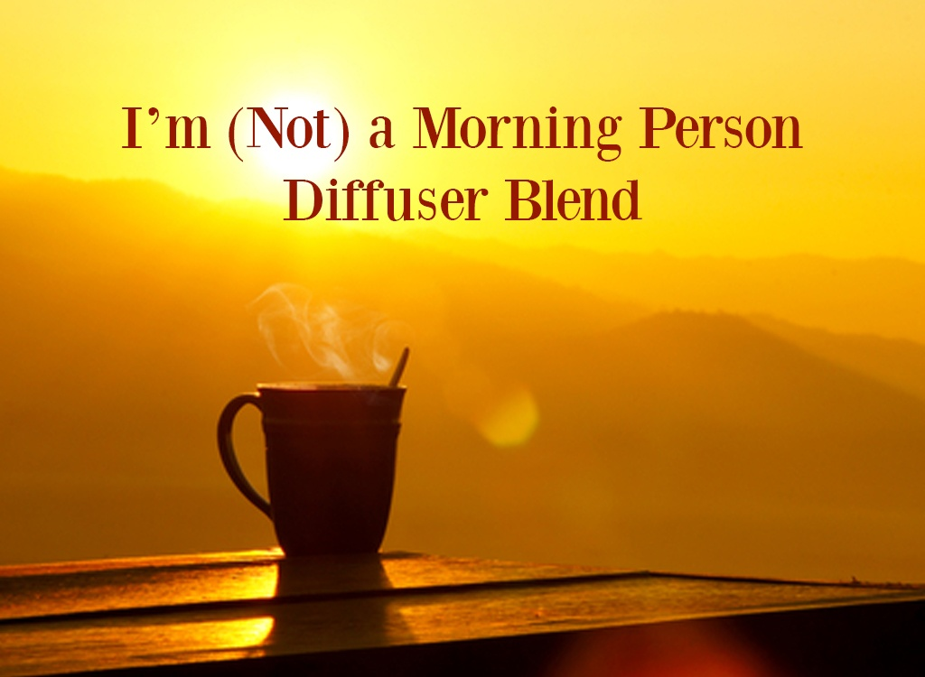 Yuzu Essential Oil Im Not a Morning Person Diffuser Blend
