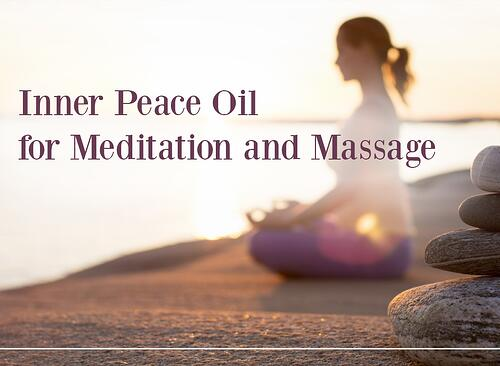 Inner Peace Oil for Meditation and Massage