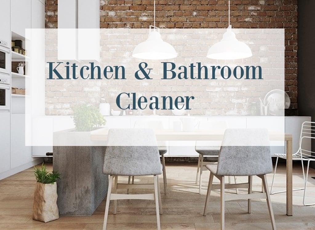 Sweet Orange Essential Oil Kitchen And Bathroom Cleaner