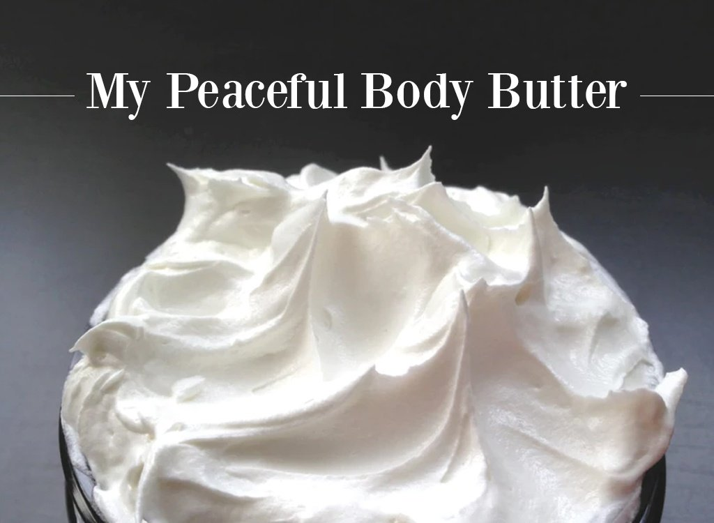 Neroli Oil Peaceful Body Butter