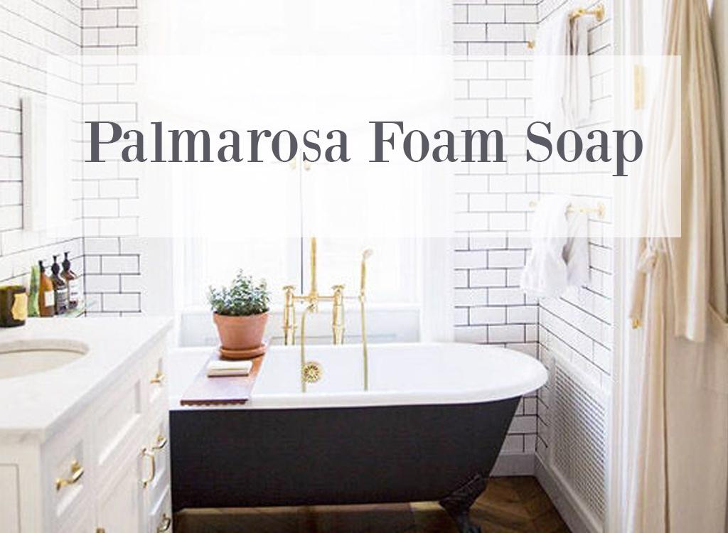 Palmarosa Essential Oil Foam Soap