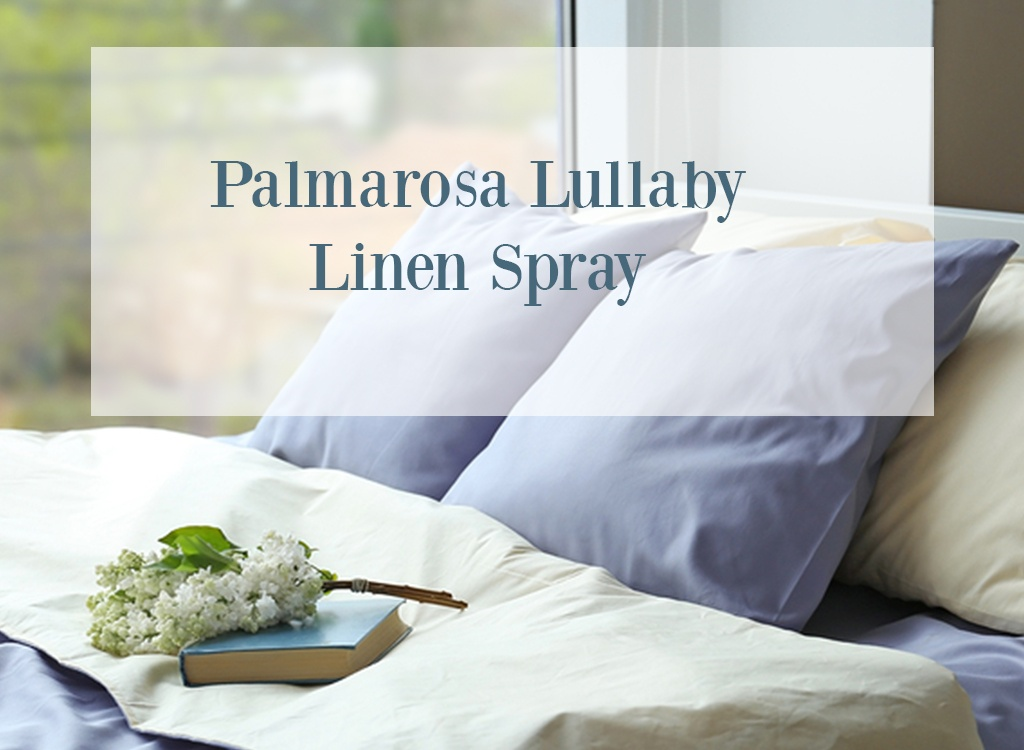Palmarosa Essential Oil Linen Spray
