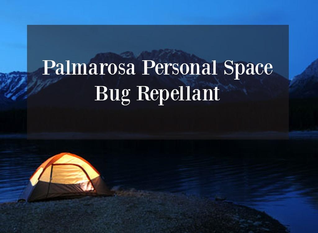 Palmarosa Essential Oil Bug Repellant