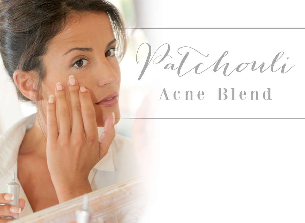 Patchouli Essential Oil Acne Blend
