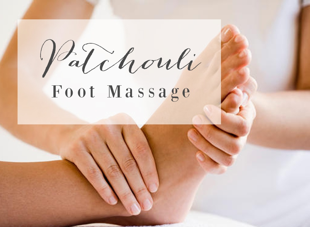 Patchouli Essential Oil Foot Massage Blend