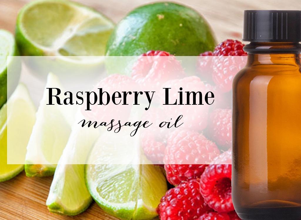 Raspberry Lime Massage Oil