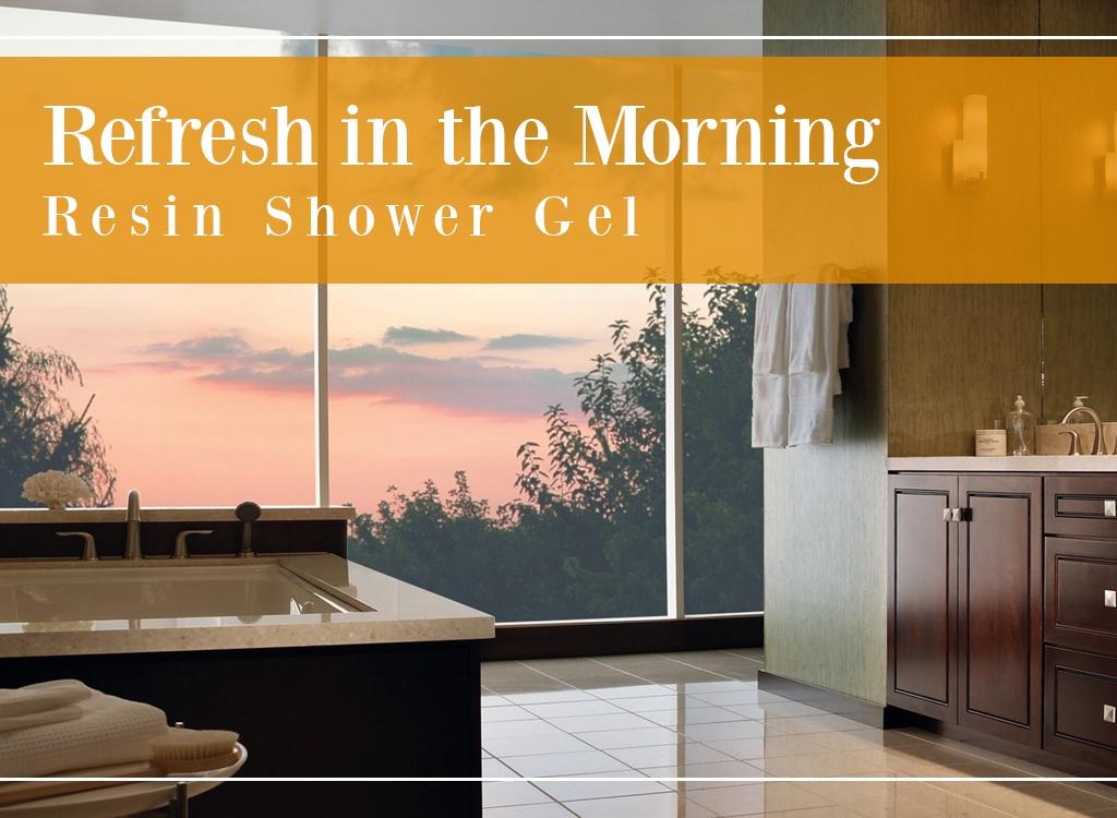 Refresh in the Morning Resin Shower Gel