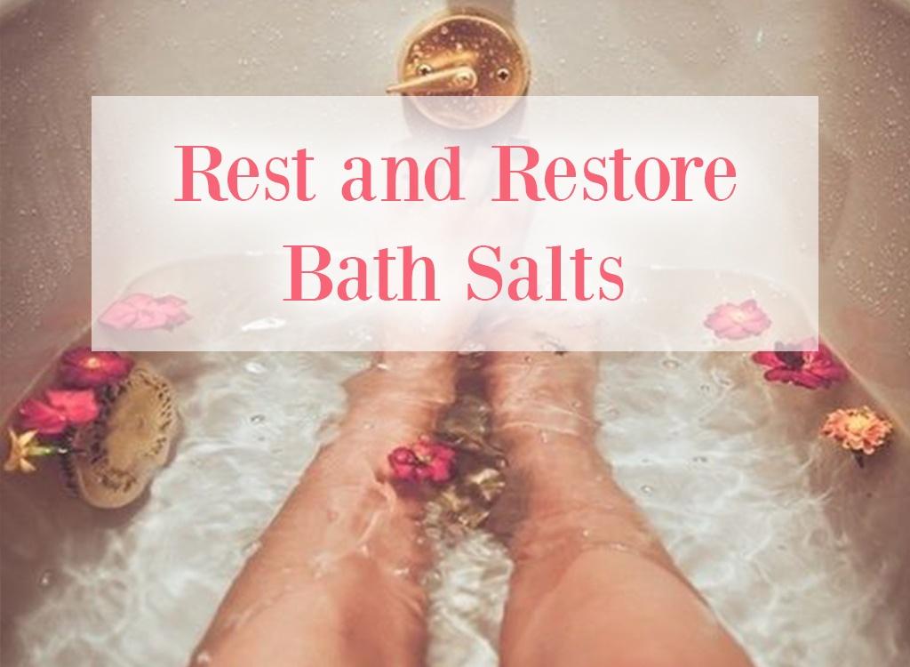 Yuzu Essential Oil Rest and Restore Bath Salts