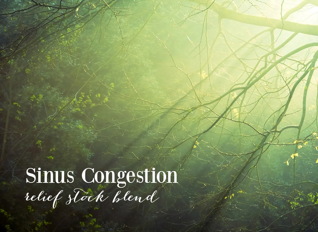 Cypress Oil Sinus Congestion Relief Blend