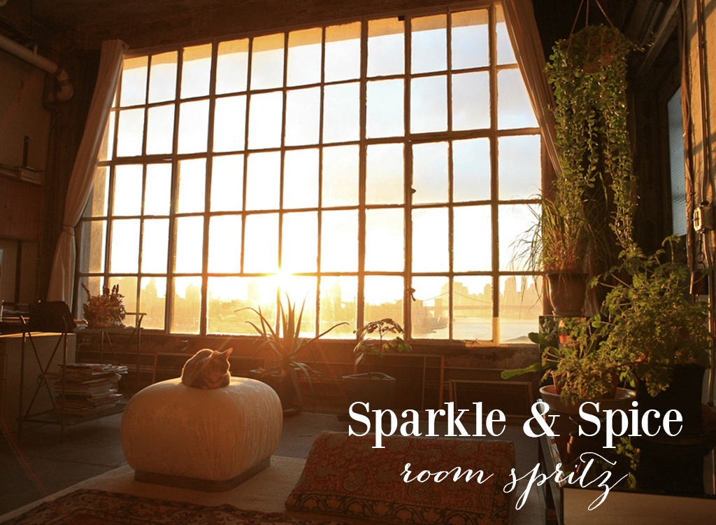 Sparkle and Spice Room Spritz