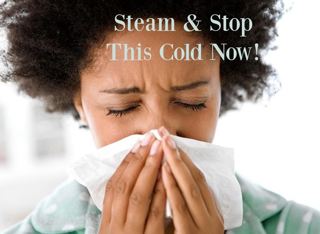 Tea Tree Essential Oil Steam Recipe for Colds