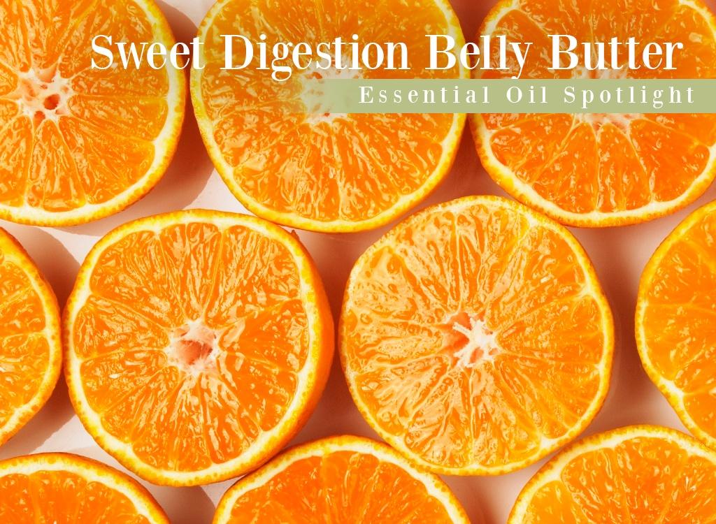 Sweet Orange Digestion Belly Butter