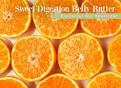 Sweet Orange Digestion Belly Butter