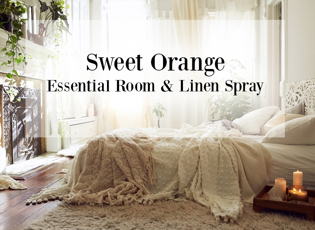 Sweet Orange Essential Oil Room and Linen Spray