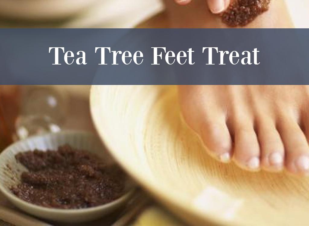 Tea Tree Essential Oil Foot Treatment