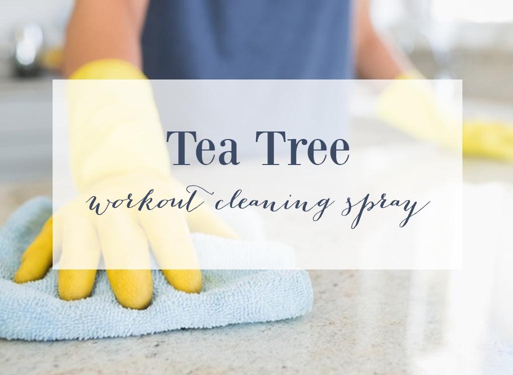 Tea Tree Essential Oil Cleaning Spray