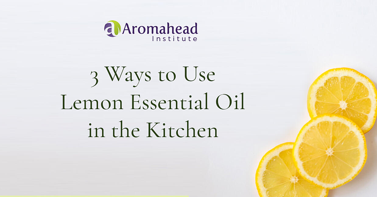 3 Ways to Use Lemon Essential Oil in the Kitchen