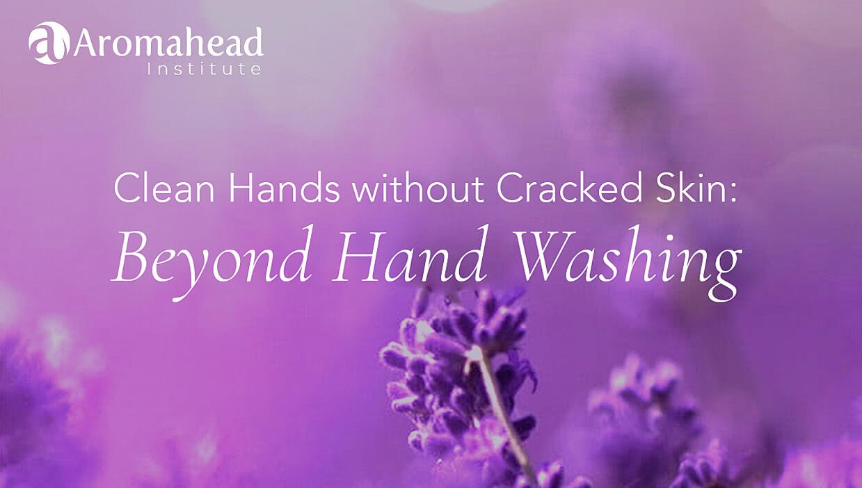 clean hands without cracked skin beyond hand washing