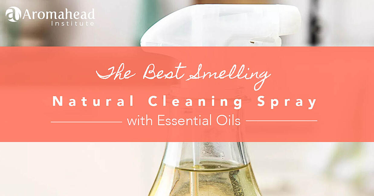 The best smelling natural cleaning spray!