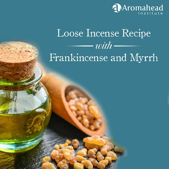 Blog- March 18-  Blog Title - Loose Incense Recipe with Frankincense and Myrrh- 1200 x 1200- V1