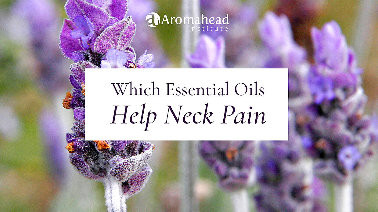 Which essential oils help neck pain